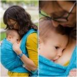 Beneficios del porteo para los bebés
