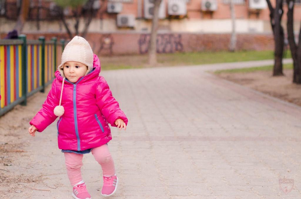 Aprenden a caminar