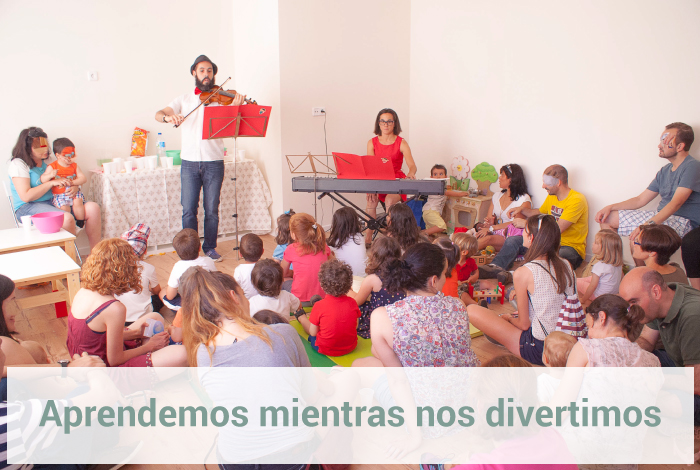 Talleres el Columpio de Claudia escuela infantil Sanchinarro