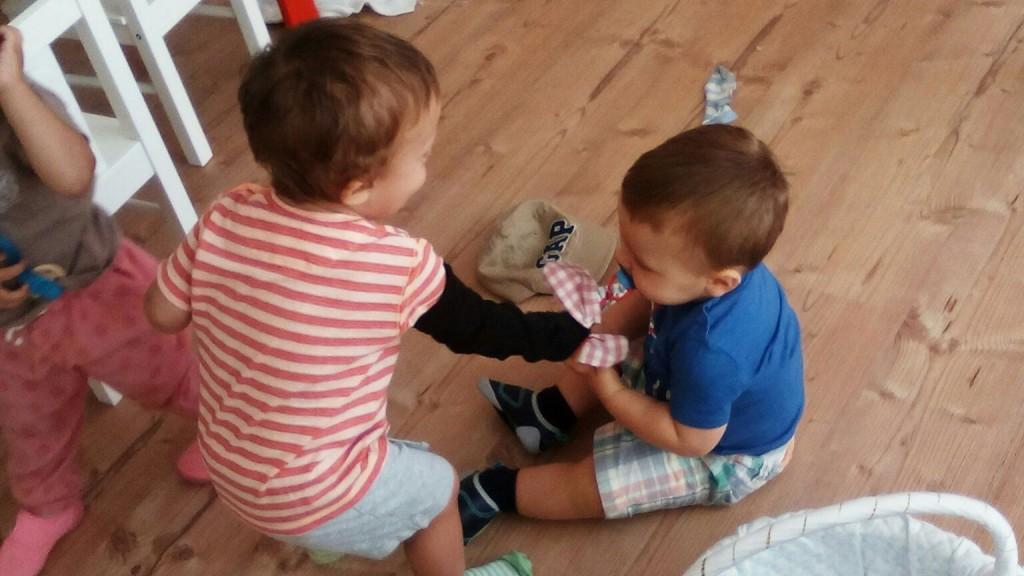 Pblo y Juan calcetines