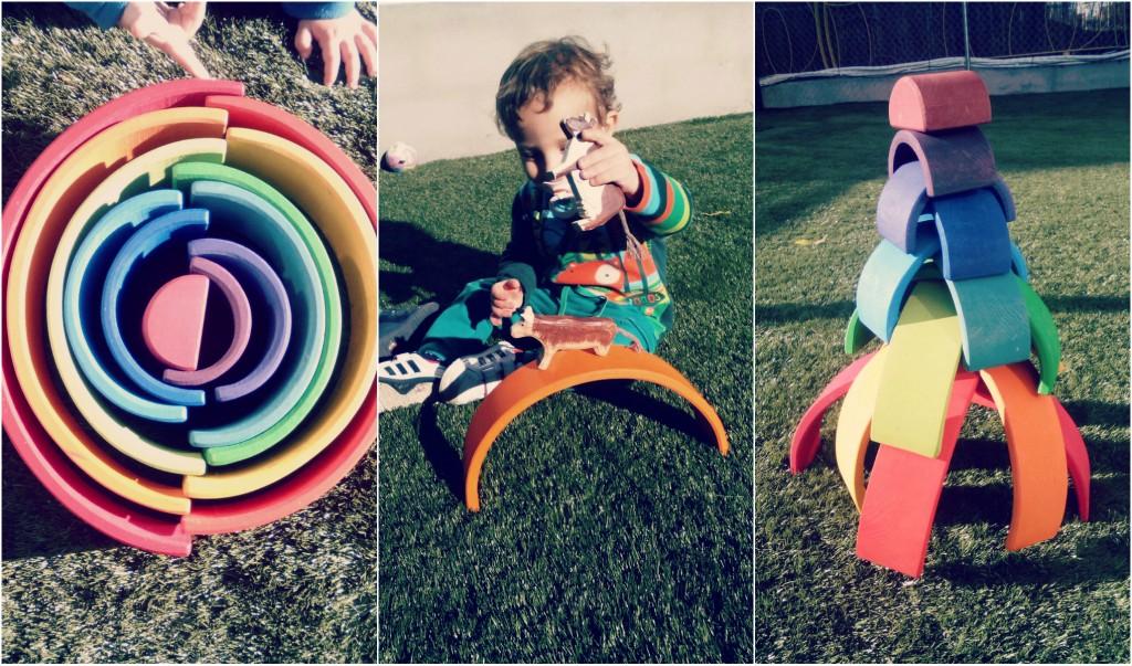 arco iris grande