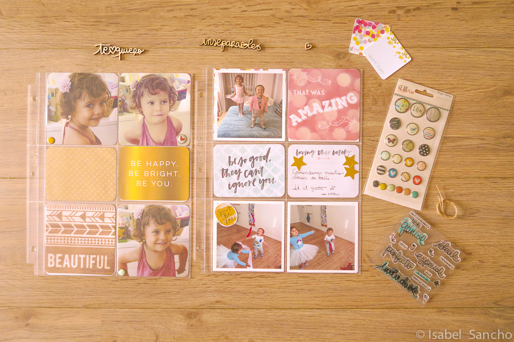 Projectlife materiales